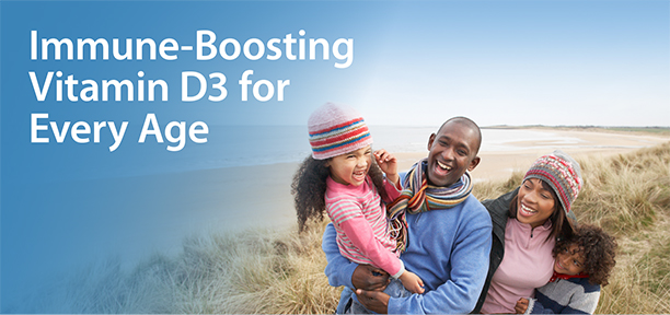 Immune-Boosting Vitamin D3 for Every Age