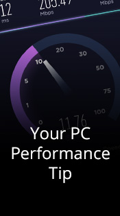 Your PC Performance Tip