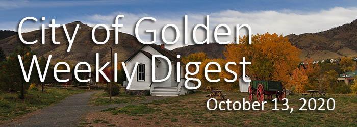 Weekly Digest October 13 2020