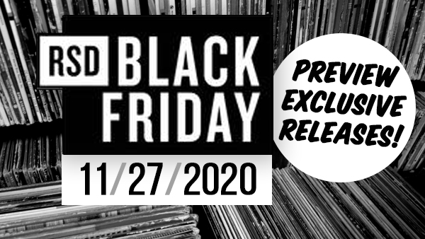 RSD Black Friday - Exclusive Releases