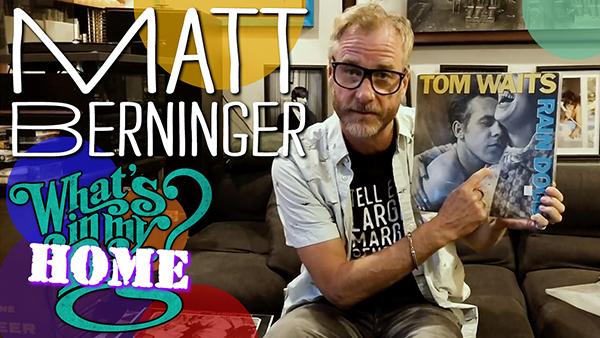 Matt Berninger (The National) What''s In My Bag? [Home Edition]