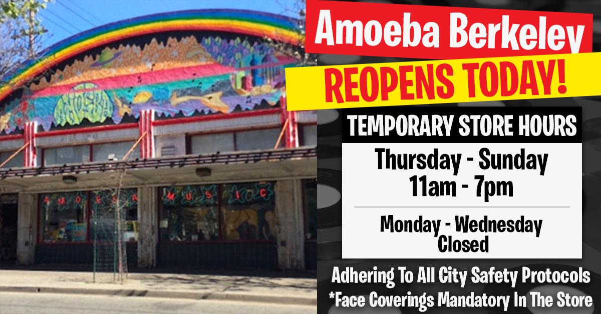 Amoeba Berkeley Reopens