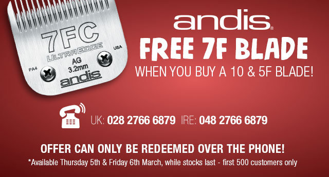Andis Blade Offer