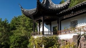 Chinese Scholar''s Garden building