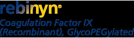 Rebinyn Coagulation Factor IX (Recombinant), GlycoPEGylated logo.