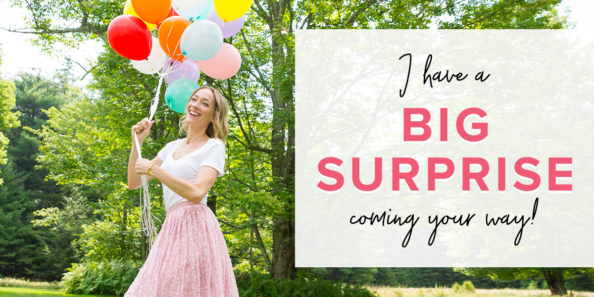 A Big Surprise is Coming!