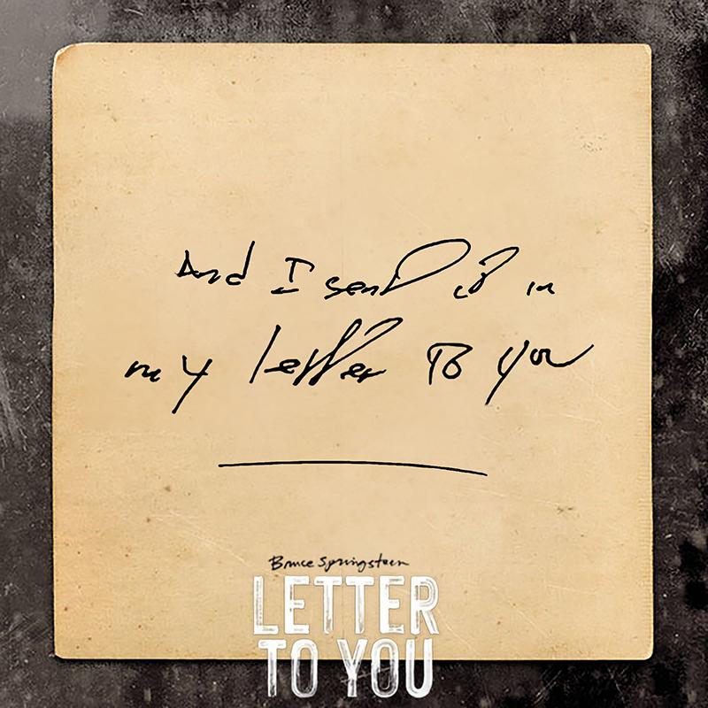 Bruce Springsteen Letter To Bruce