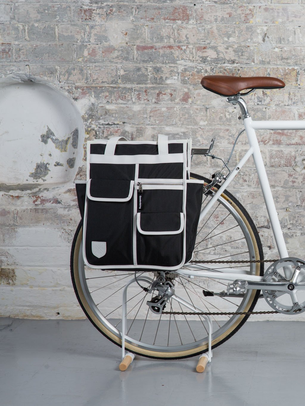 3 in 1 Market Shopper: Convertible Backpack Pannier cycling bag