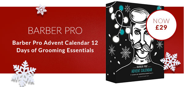 Barber Pro Advent Calendar 12 Days of Grooming Essentials