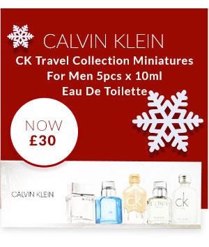 CK Travel Collection Miniatures For Men 5pcs x 10ml Eau De Toilette