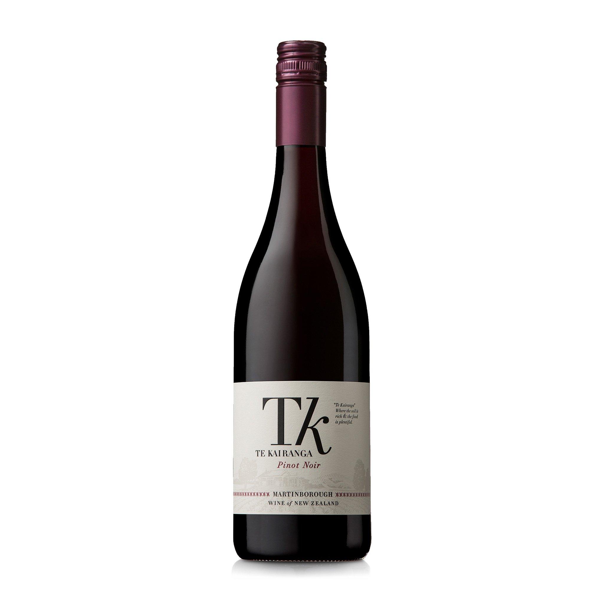 Te Kairanga Estate Pinot Noir 2018 6 Bottles
