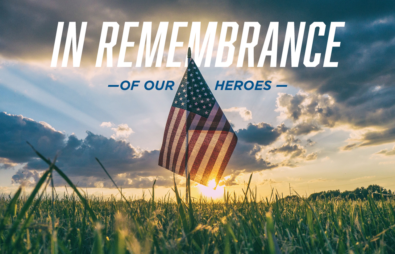 In remembrance of our heros