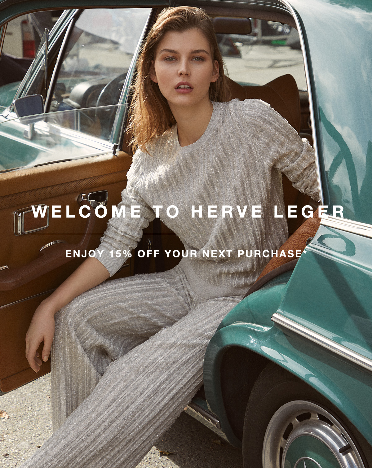 HERVE LEGER WELCOME...