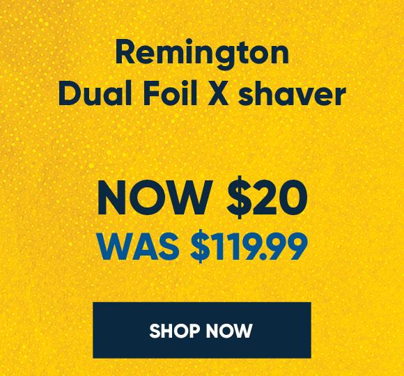 Remington-Dual-Foil-X-Shaver