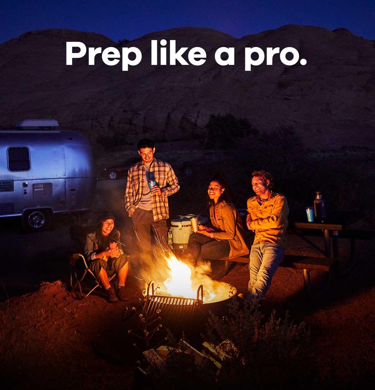 Prep like a pro.
