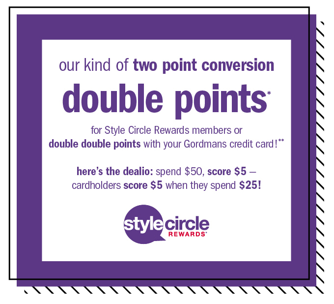 Our kind of two point conversion double points*