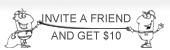 invite a friend and get $10