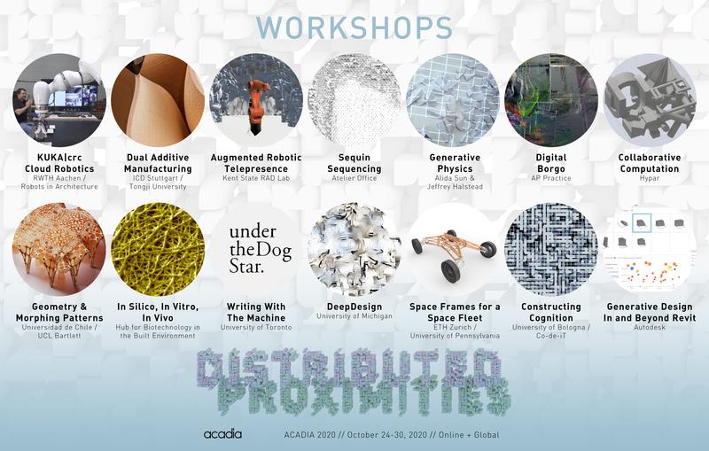 Acadia 2020 workshops website