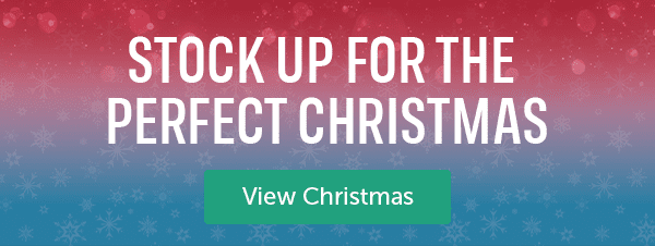 Stock up for the perfect Christmas. View Christmas