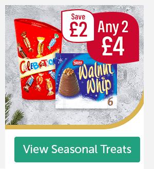 Celebrations, Nestle Walnut Whip Save �Any 2 �View Seasonal Treats