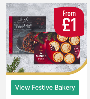 From �Luxury 12 month matured Christmas Pudding. 6 Mince Pies From �View Festive Bakery