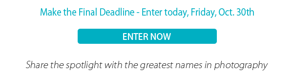 Make the Final Deadline - Enter today, Friday, Oct. 30th