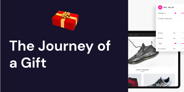 Nosto Journey of a gift