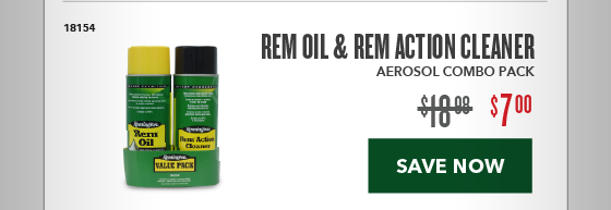 Clearance Special - REM Oil & Action Cleaner Combo
