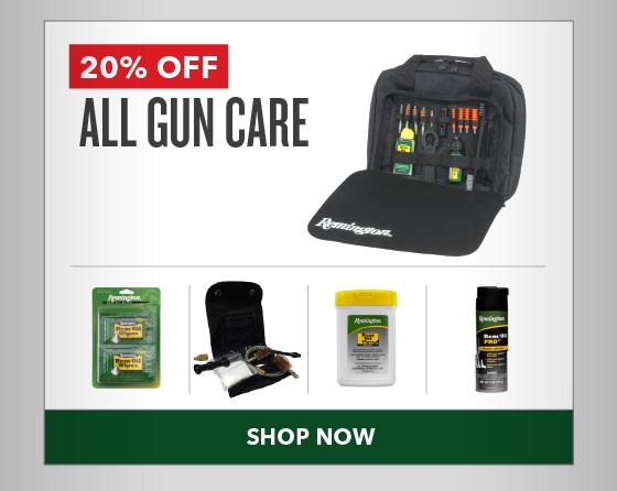 20% OFF All Gun Care