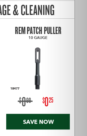 Clearance Special - REM Patch Puller