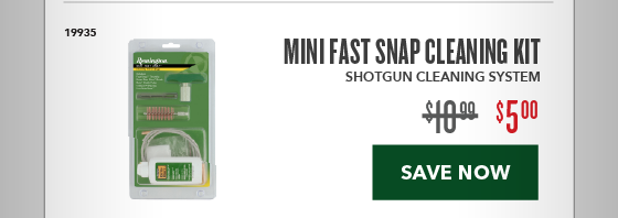 Clearance Special - Mini Fast Snap Cleaning Kit