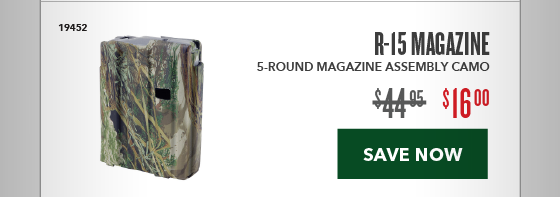 Clearance Special - R-15 Magazine