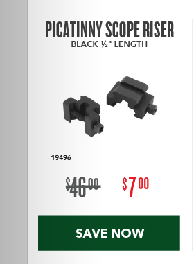 Clearance Special - Picatinny Scope Risers