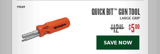 Clearance Special - QuickBit Gun Tool