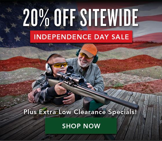 Independence Day Sale - 20% off Sitewide Plus Extra Low Clearance Specials!