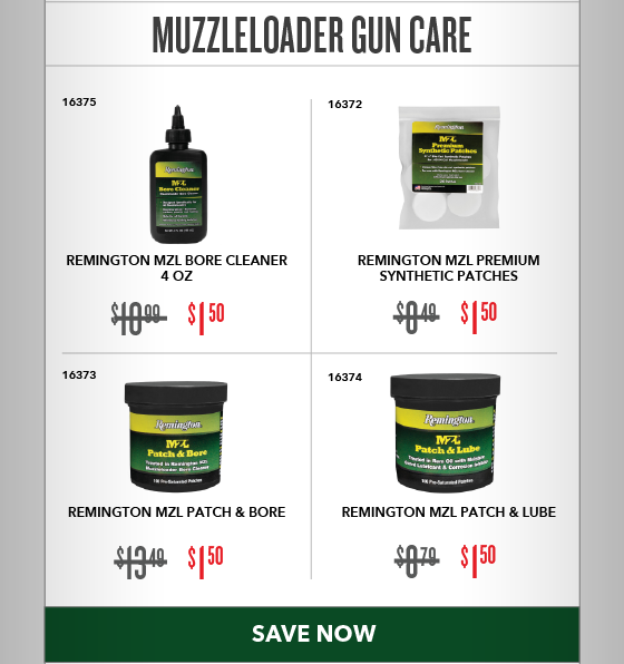 Clearance Special - Muzzleloader Gun Care
