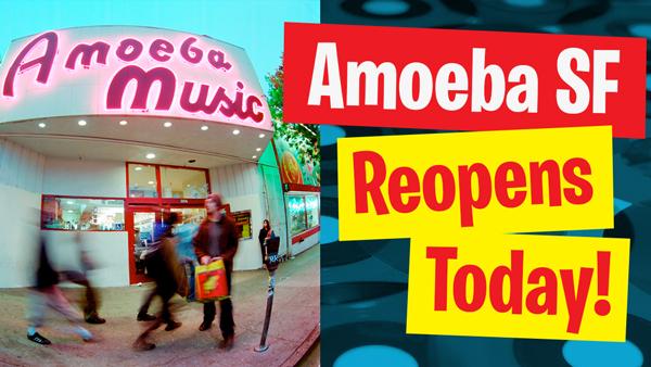 Amoeba SF Opens Today