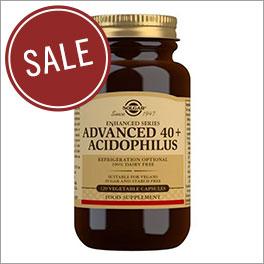Advanced 40+ Acidophilus Veg Capsules