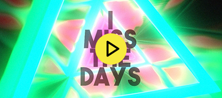 GALXARA - I Miss The Days [feat. Party Pupils] (Official Lyric Video)