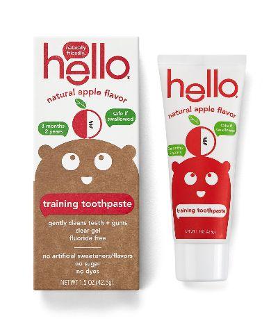 training toothpaste