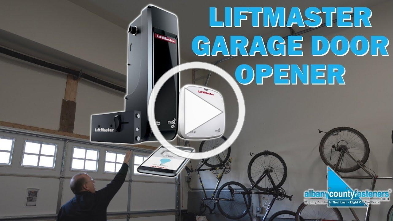 High Lift Mount LiftMaster 8500w Garage Door Opener | Review