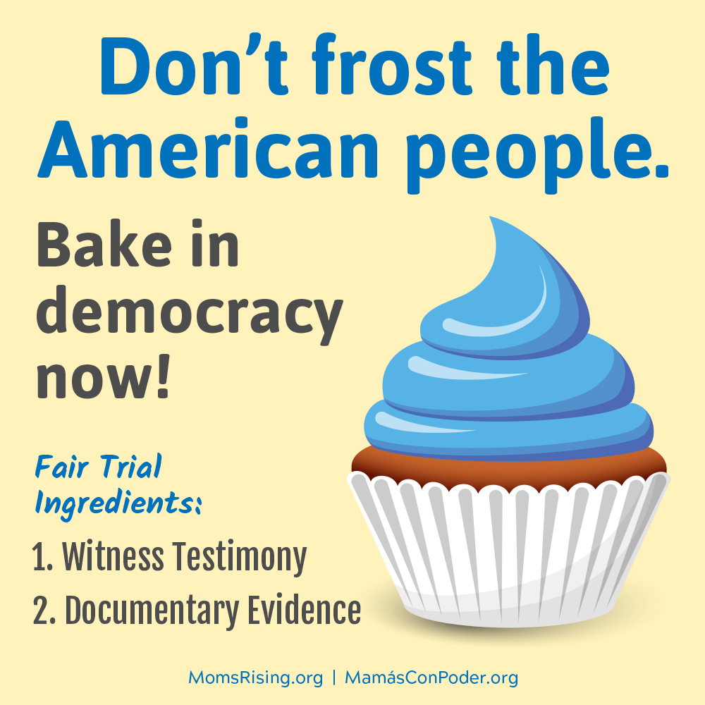 Quick Signature: Tell your U.S. Senators to conduct a fair and complete impeachment trial!