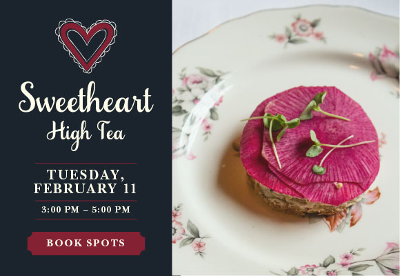 Click here to book tickets for Sweetheart High Tea at Mon Ami Gabi on Tuesday, February 11.