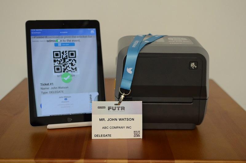 Mobile Kiosk QR Code check-in