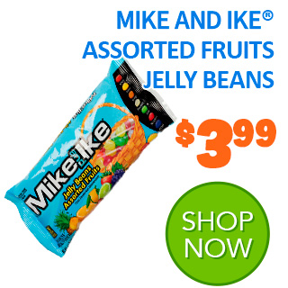 MIKE AND IKE Assorted Fruits Jelly Beans 14 oz. bag
