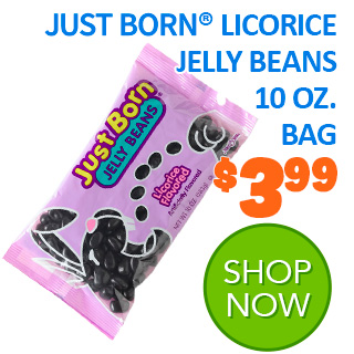 Just Born Licorice Jelly Beans
