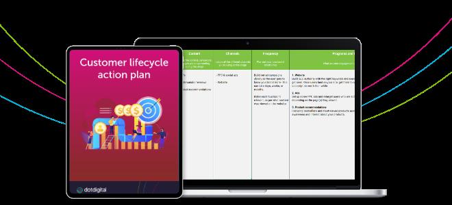 Customer lifecycle action plan