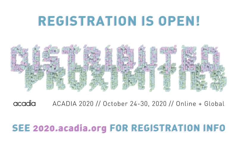 Acadia2020 registration