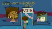 Focus on My 'Vote:' Six Point Harness Delivers Election-Themed