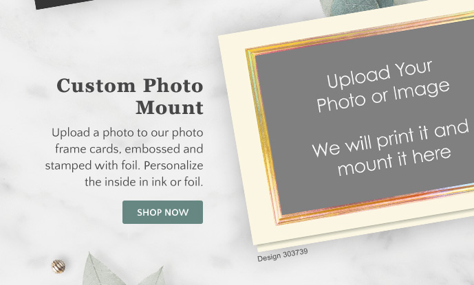 Custom Photo Mounts